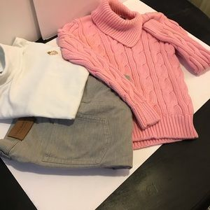 Pink warm Ralph Lauren sweater